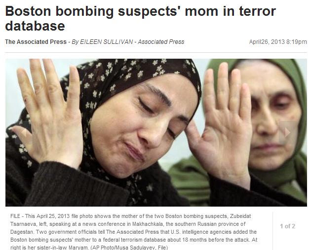 boston bombing mom in terror base 28.4.2013
