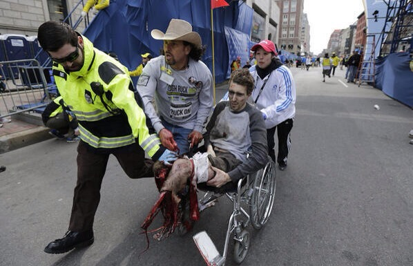 boston marathon victim of terror 15.4.2013