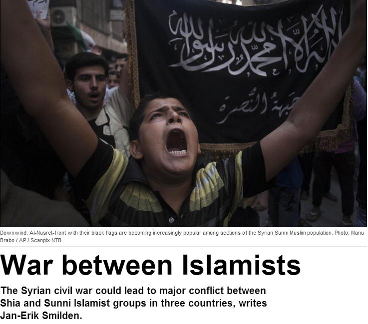 dagbladet discovers al-qaida in syria 29.4.2013
