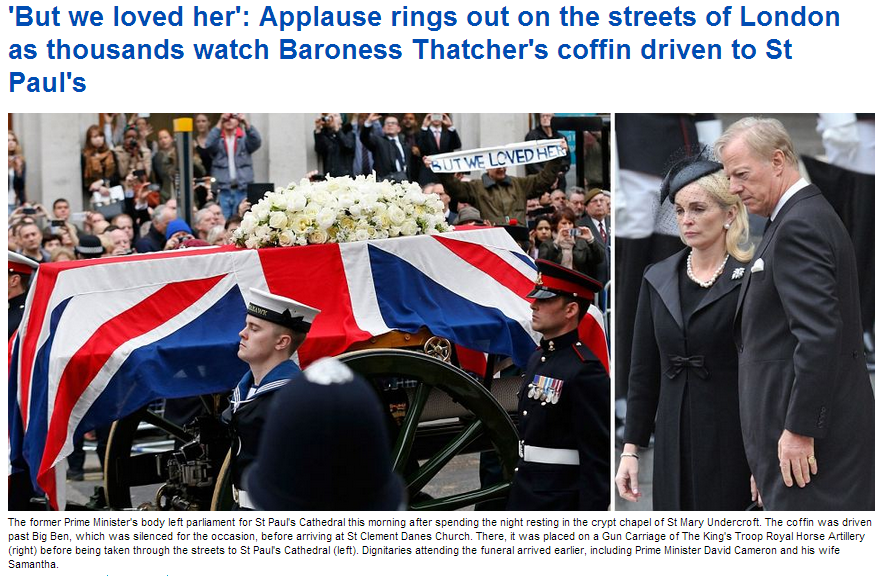 margret thatcher rest in peace 17.4.2013
