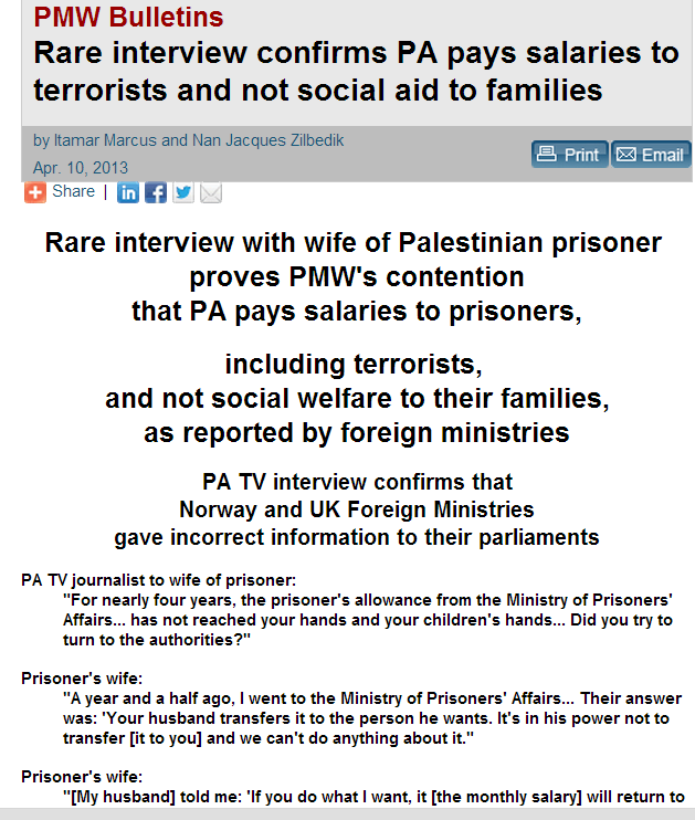more on pmw norway aid to pali terrorists 10.4.2013