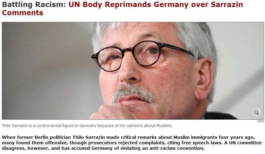 sarrazin un reprimend for racism 19.4.2013
