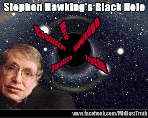 HAWKING MORAL BLACK HOLE