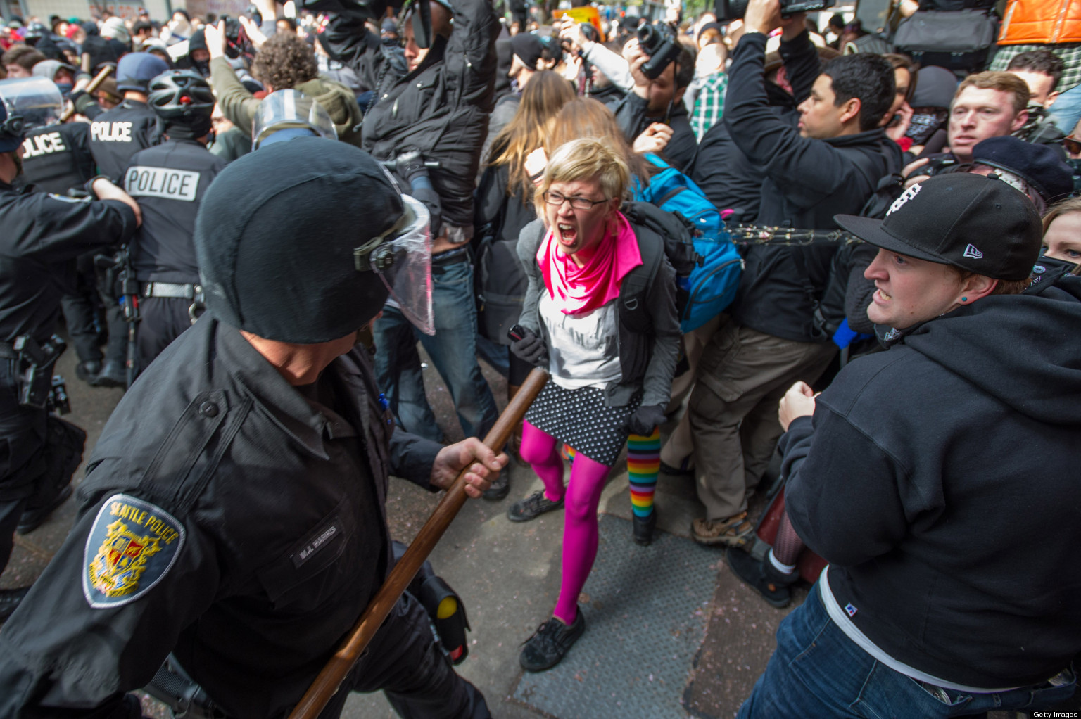 Occupy Wall Street Starts May Day Protests