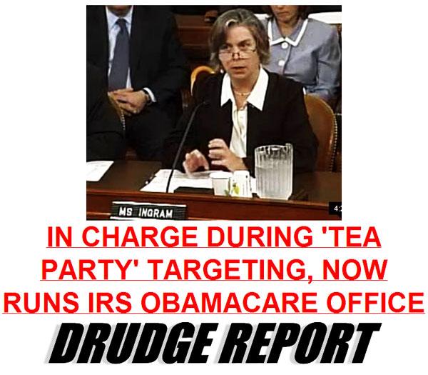 Sarah Hall Ingram  irs-tea-party-attack-chief-now-runs-obamacare