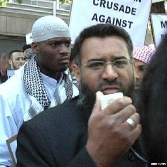 anjem choudary and london murdering terrorist of woolwich