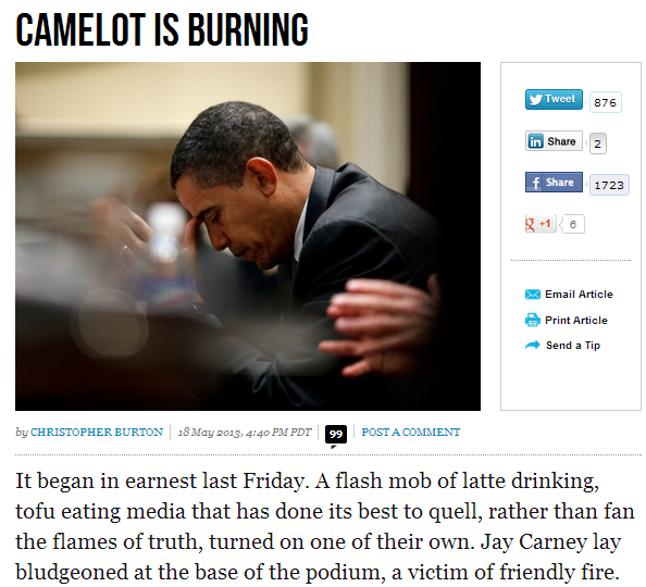 camelot burning 19.5.2013