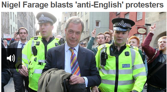 farage blasts anti-English racists 18.5.2013