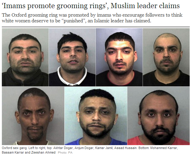 imams promote sex rape gangs 17.5.2013