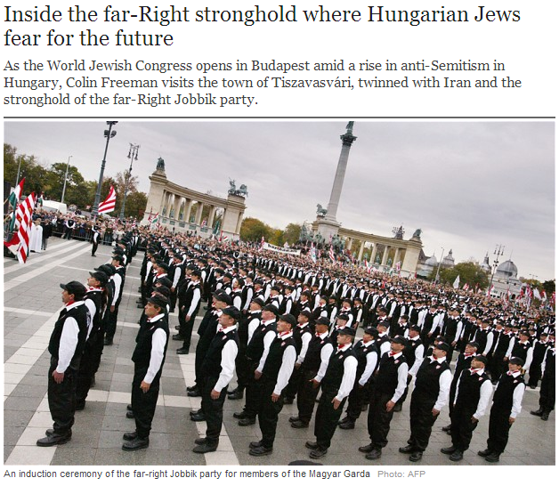 jobbik fascists increase antisemitism to new levels 5.5.2013