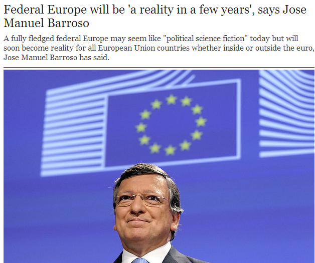 maoist barroso speaks-a federal europe in a few years time 7.5.2013