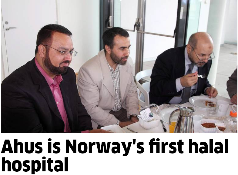 norways first halal certified hospital 1.6.2013