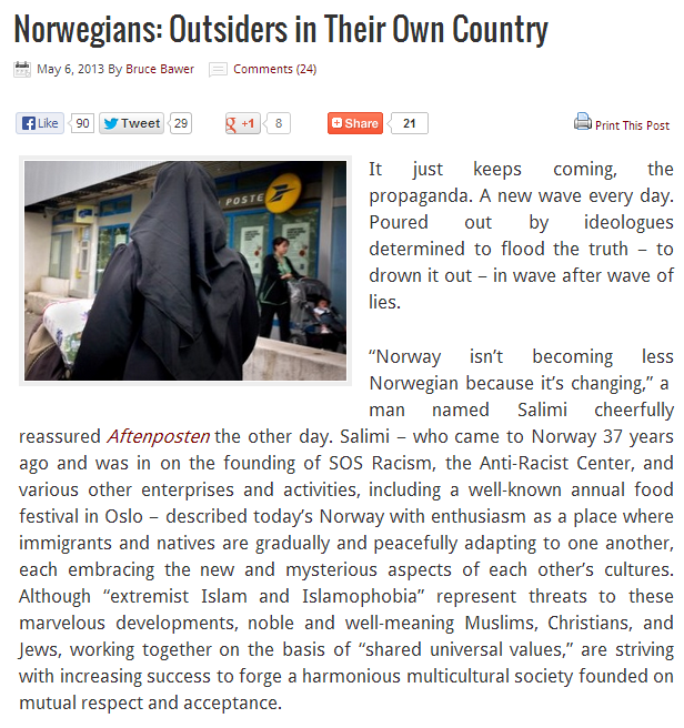 norwegians strangers in their own towns 6.5.2013