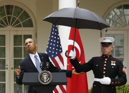 obamamarineumbrella