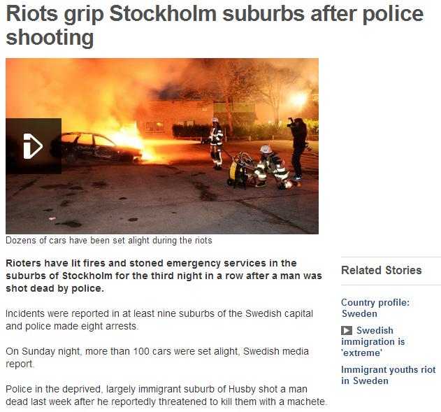 stockholm burning 22.5.2013