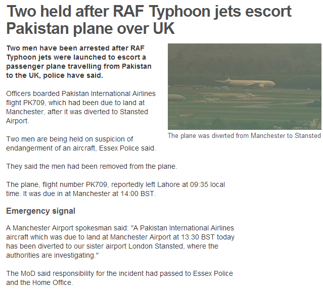 two held after pakistani aircraft enters uk airspace 24.5.20p13