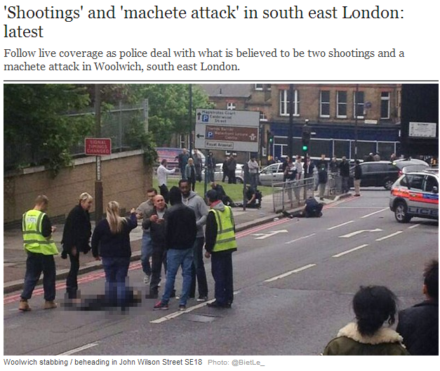 uk terror attack man hacked to death by machete 22.5.2013