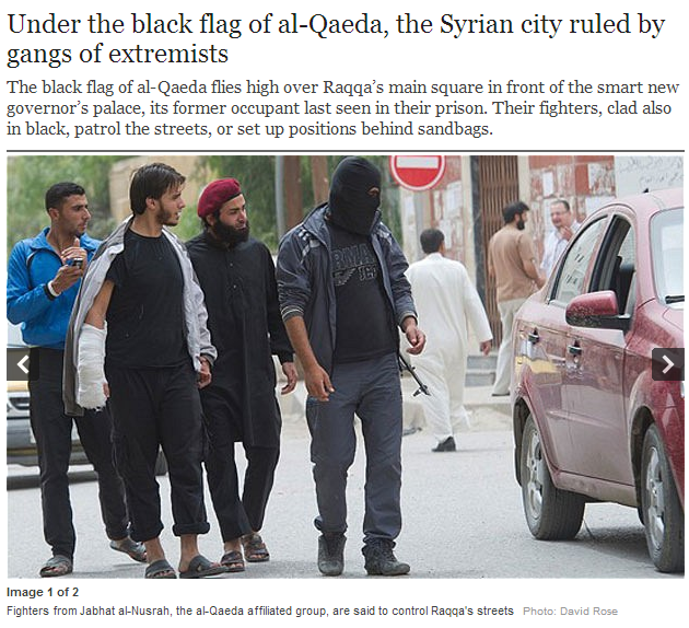 under teh black flag of al-qaida in syria 12.5.2013
