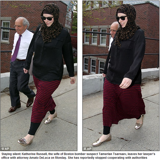 wife of boston jihad bomber clamming up 5.5.2013