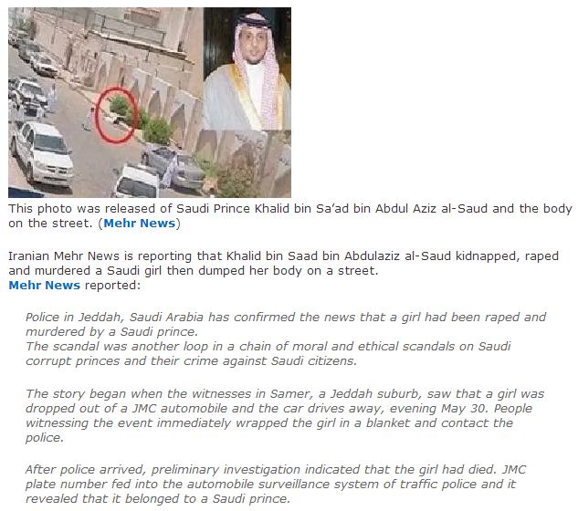 SAUDI PRINCE RAPIST AND MURDERER 3.6.2013
