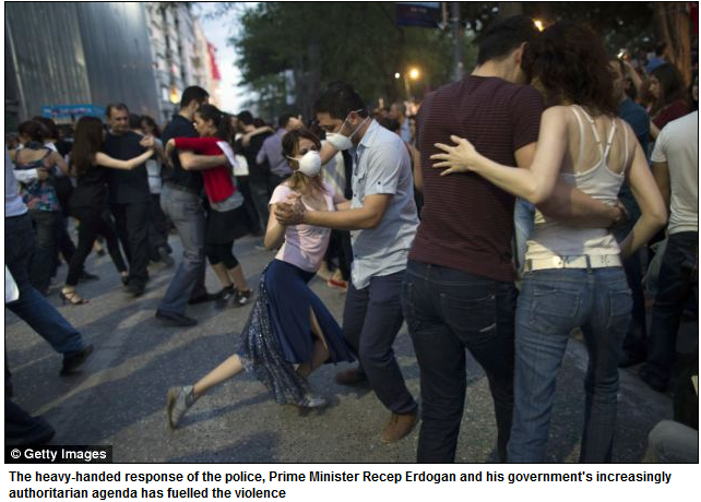 TURKS IN MASKS DANCE THE TANGO 9.6.2013