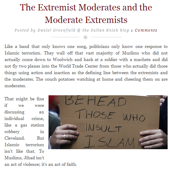 daniel greenfield-extremist moderates and moderate extremists 2.6.2013