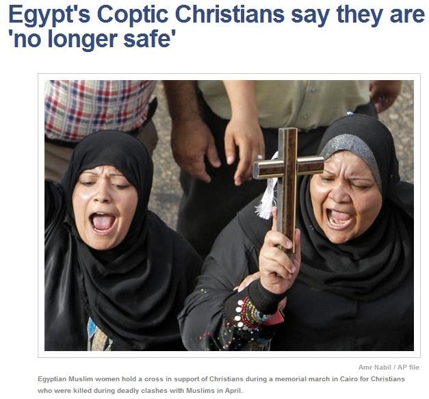 egypts copts no longer safe 23.6.2013