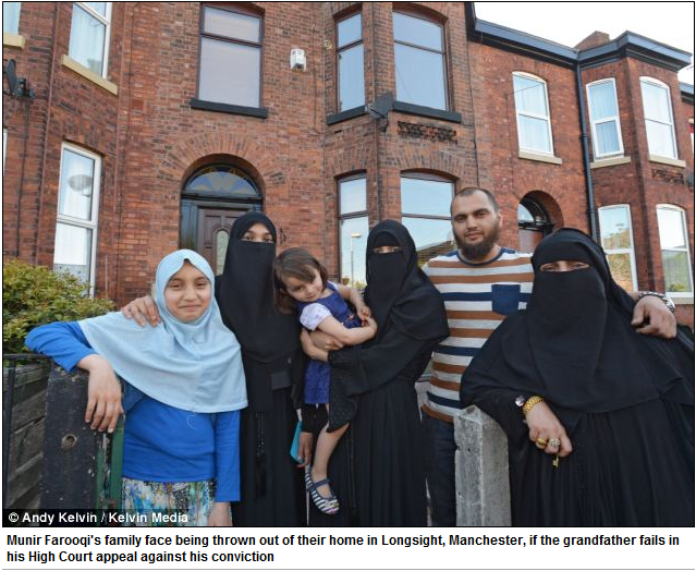 farooqi family faces eviction if jihadi grandpappy loses appeal on conviction 13.6.2013