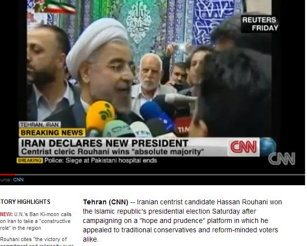 iran new pres 16.6.2013