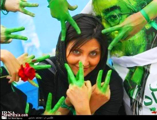 iranian green revolt