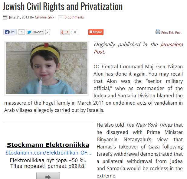 jewish  civil rights and privatization 22.6.2013