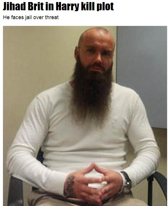 jihad against british royal 2.6.2013