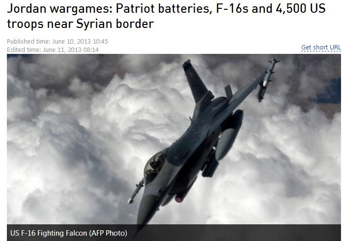 jordan war games 15.6.2013
