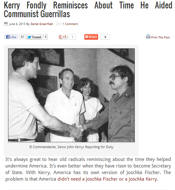 kerry and the commies a trip down memory lane 6.6.2013