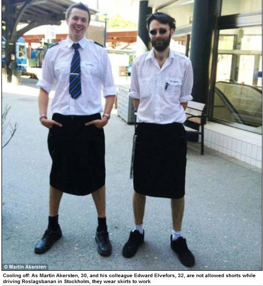 swede men in skirts