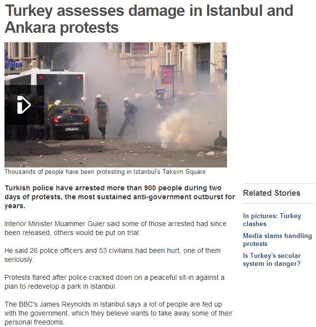 turkey five days in to demos against islamization 2.6.2013