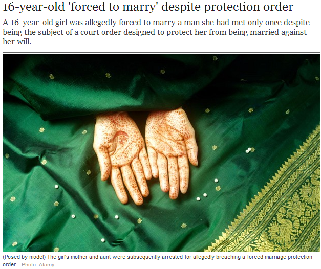 youth forced to marry  despite protection law 28.6.2013