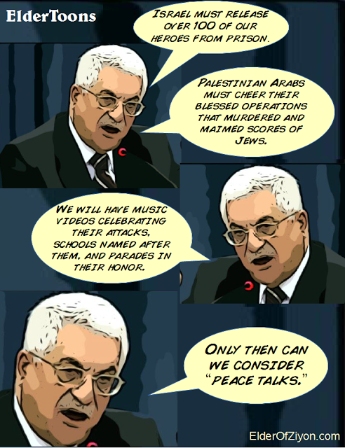 abbas peace talks