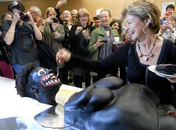 black face cake in sweden