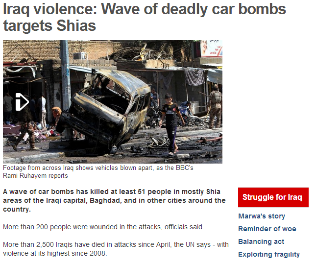 car bomb in iraq 29.7.2013
