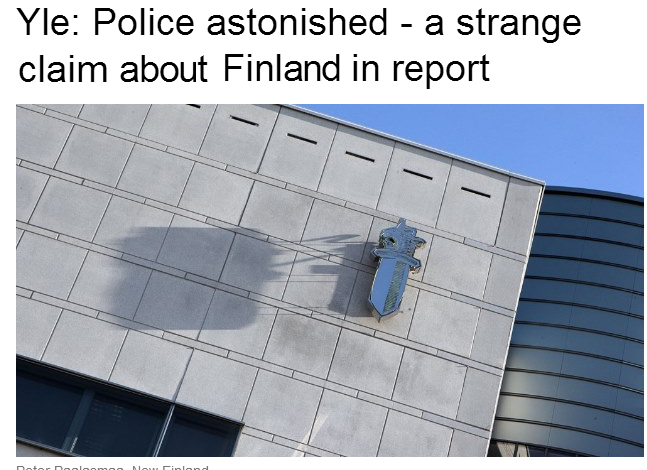 ecri report contains strange report on finland 13.7.2013