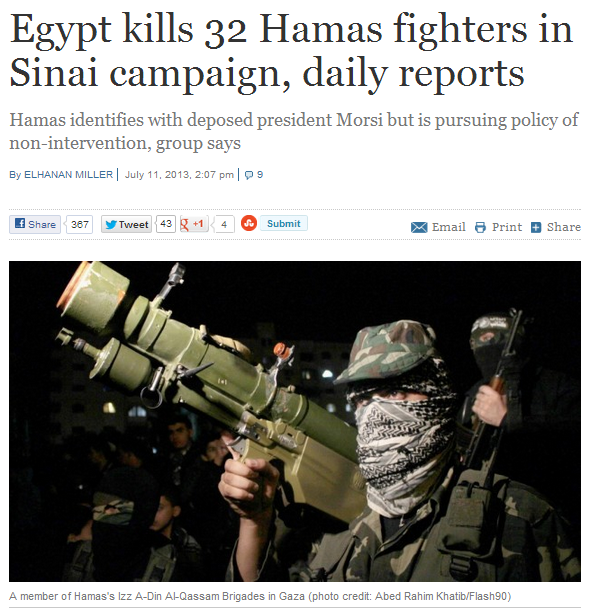 egypt kills 32 hamas terrorists