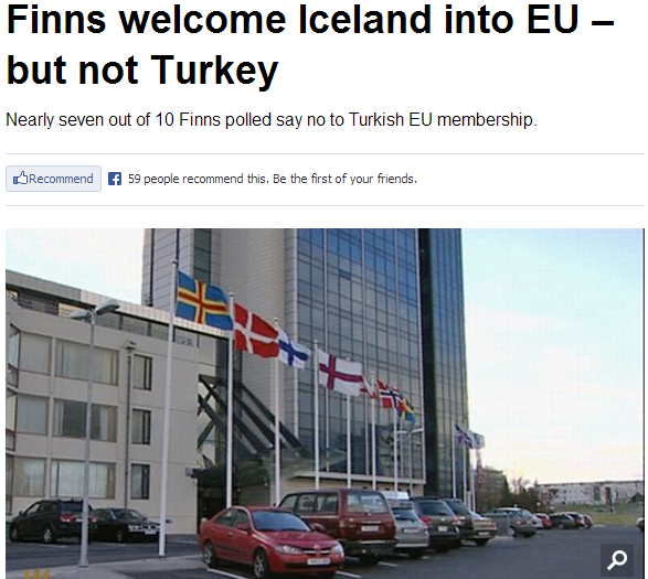 finns warm to iceland and ice cold to turkey