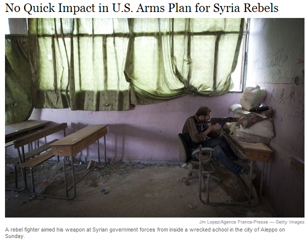 no plans to arm syrian jihadi rebels 17.7.2013