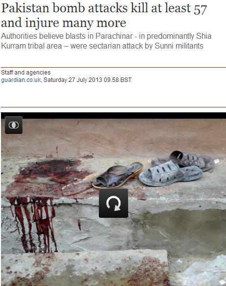 paki bomb attack kills 57 28.7.2013