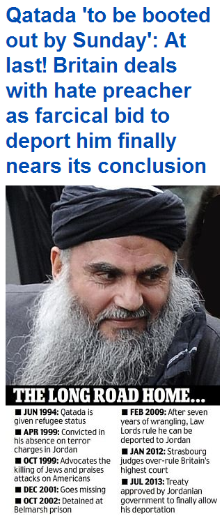 qatada to be booted 3.7.2013