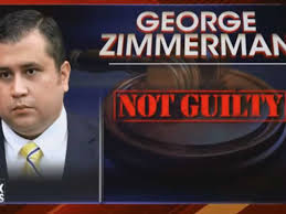 zimmerman not guilty