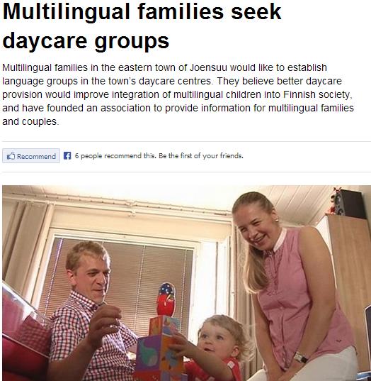MULTICULTI JIBBERISH IN FINLAND 20.8.2013