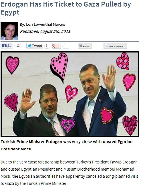 erdogan not allowed to visit gaza 5.8.2013