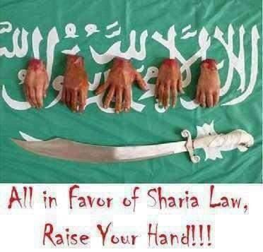hand for sharia